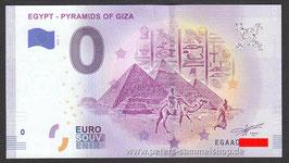 EG-2019-AA-1 - EGYPT - PYRAMIDS OF GIZA