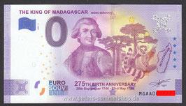 MG-2021-AA-1-A - THE KING OF MADAGASCAR MÓRIC BENOVSKY - ANNIVERSARY-EDITION