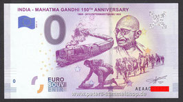 IN-2019-AA-2 - INDIA - MAHATMA GANDHI 150TH ANNIVERSARY 1869 - 2019 PIETERMARITZBURG 1893