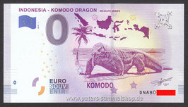 ID-2019-AB-1 - INDONESIA - KOMODO DRAGON WILDLIFE SERIES