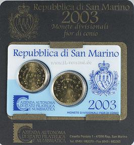 SMR-KMS-2003 - KMS mini - 2 Münzen