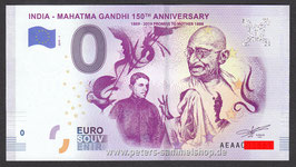IN-2019-AA-1 - INDIA - MAHATMA GANDHI 150TH ANNIVERSARY 1869 - 2019 PROMISE TO MOTHER 1888