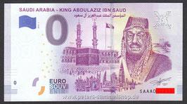 SA-2019-AA-1 - SAUDI ARABIA - KING ABDULAZIZ IBN SAUD
