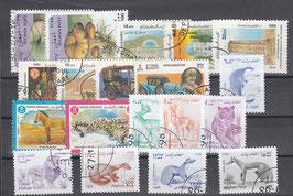 AFG-SET-001 - 19 x verschiedene Briefmarken