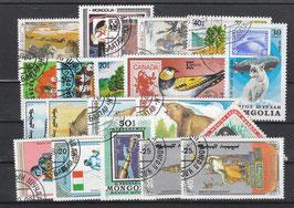 MNG-SET-002 - 20 x verschiedene Briefmarken