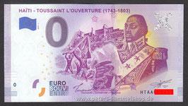 HT-2019-AA-1 - HAÏTI - TOUSSAINT L'OUVERTURE (1743-1803)