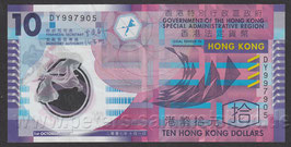 HKG-401 - 10 Hongkong Dollars