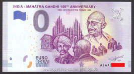 IN-2019-AA-3 - INDIA - MAHATMA GANDHI 150TH ANNIVERSARY 1869 - 2019 TALE OF THE TURBAN 1893