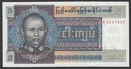 MMR-057 - Porträt von Genaral Aung San