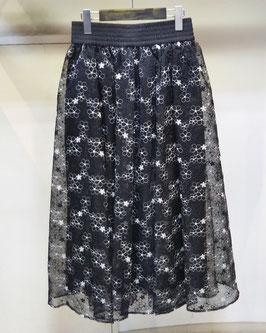 【商品No.btm_5】Double Standard Clothingフラワーオーガンジーボリュームスカート【夏物】