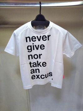 【商品No.tops_122】THOMAS MAGPIE neverロゴショートTシャツ【秋冬物】【新着】