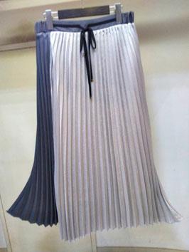 【商品No.btm_57】FIGNO 配色プリーツスカート【秋冬物】【新着】