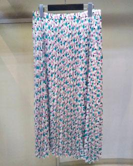 【商品No.btm_10】BLueFronce オプティカルプリントプリーツスカート【夏物】