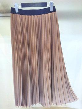 【商品No.btm_24】FIGNO グラディエーションアコーディオンプリーツスカート【夏物】