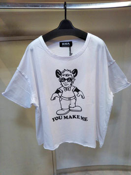 【商品No.tops_128】RNA  you make meワイドTシャツ