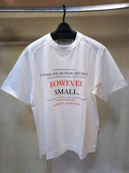 【商品No.tops_124】THOMAS MAGPIE  HOWEVERロゴビッグTシャツ【秋冬物】【新着】
