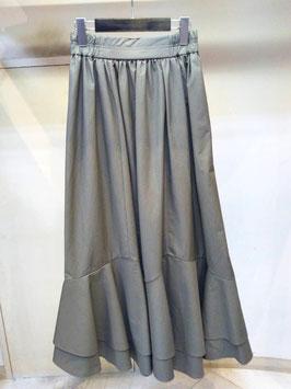 【商品No.btm_71】DoubleStandardClothing タイプライター裾切替フレアスカート【秋冬物】【新着】