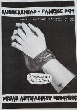 RUBBERXHEAD - FANZINE #4