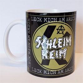 Kaffeetasse Schleim Keim