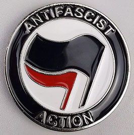 Gürtelschnalle Antifascist Action