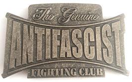Gürtelschnalle Antifascist Fighting Club