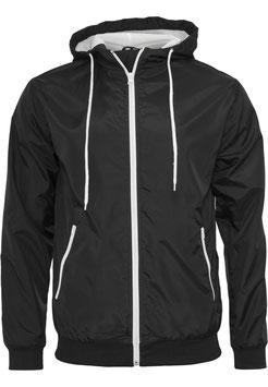 Windrunner Jacket Schwarz/Weiß