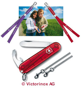 Victorinox Kindermesser mit 2 Umhängebändern