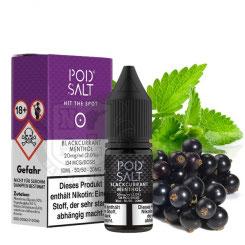 POD SALT Blackcurrant Menthol 20 mg Nikotinsalz Liquid