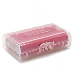 Transportbox für Akkus (18650 oder 26650, leer ohne Akkus, Farbe nach Verfügbarkeit)