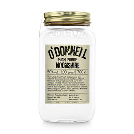High Proof 50% vol. Spirituose - O'DONNELL MOONSHINE 700ml