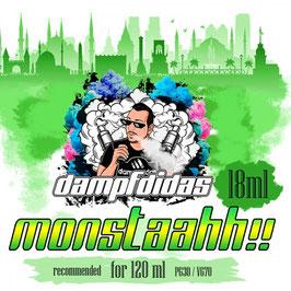 Dampfdidas Aroma 18ml MONSTAAHH!!