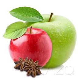 Double Apple (Doppel Apfel) E-Liquid 10ml von ZAZO - Made in Germany