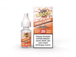 Fresh O Bomb Liquid 10 ml Nic Salt 20 mg - K-Boom