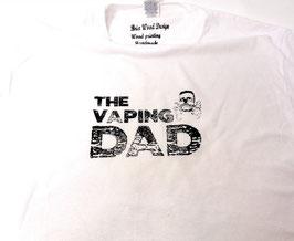 Original- T-Shirt Wood Print ( vorn )The Vaping DAD