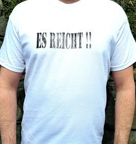 Original- T-Shirt Wood Print ( vorn )Es Reicht !!