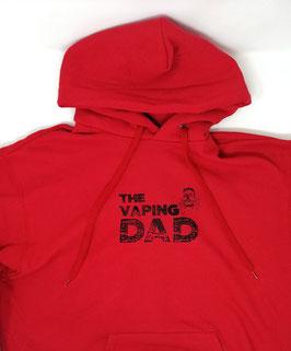 Original- Hoodie Wood Print  ( vorne) The Vaping DAD