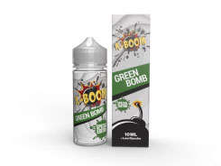 K-BOOM Special Edition GREEN BOMB Aroma 10ml plus 120ml-Leerflasche