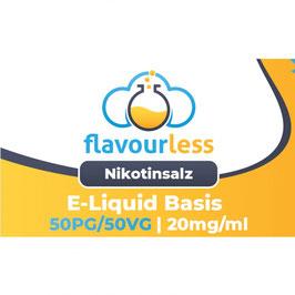 VPG NIKOTINSALZ flavourless Booster Basen-Shot (50/50) 20mg - 10ml
