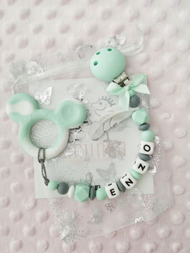 """Beisskette """"Mouse"""" mint"""