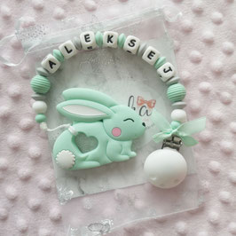 Beisskette Hase mint