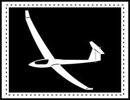 Aufkleber Segelflugzeug