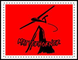 Aufkleber Matterhorn-Flieger