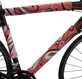 BikeWrappers: Pink Paisley