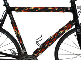 BikeWrappers: Flaming Hot