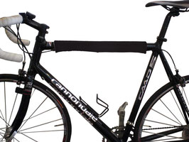BikeWrappers: Black (Just the top tube wrap)