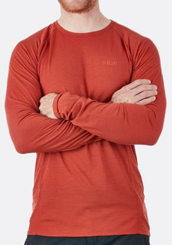 QBU-85 Rab Forge LS Crew / Red clay