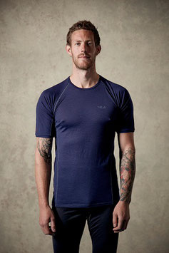QBU-15 Merino +™ 120 Short Sleeve Tee / Twilight