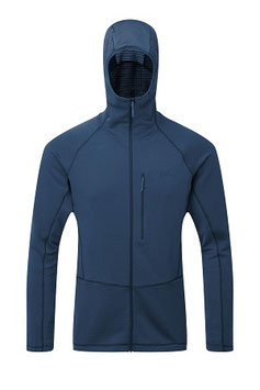 QFE-73 Power Grid Hoody / Ink