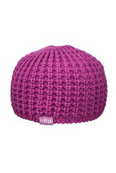 QAG-58  Chunky knit Beanie / purple