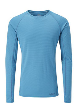 QBU-32 MERINO +™ 160 LS Crew / Amazon Stripe